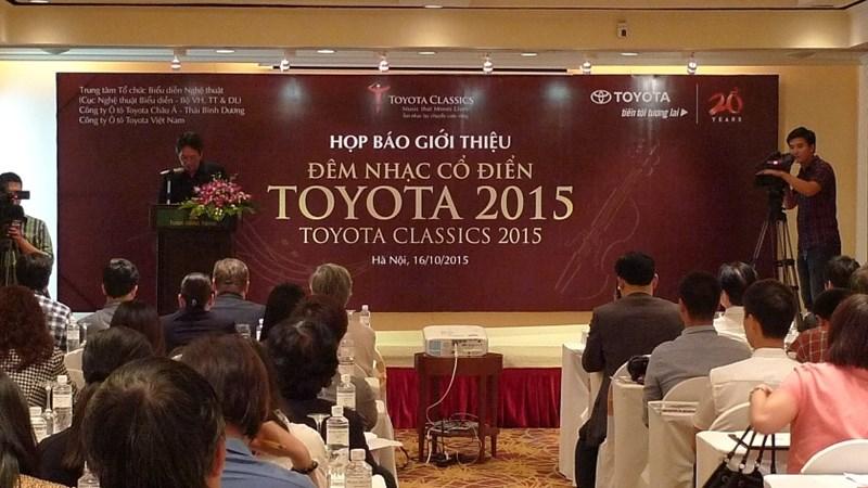 Đêm nhạc Cổ điển Toyota 2015