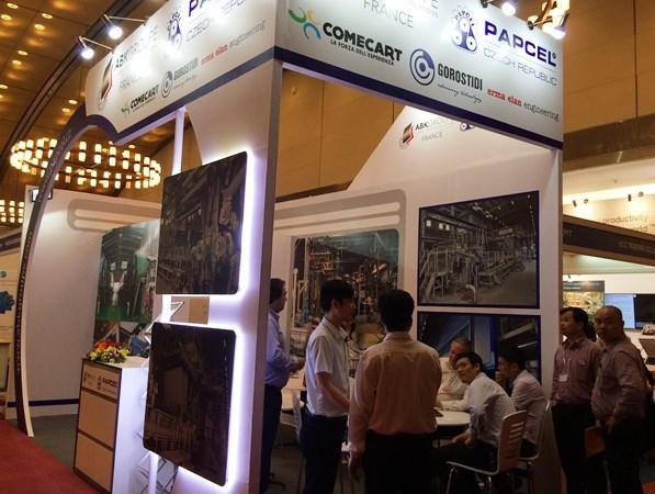 Gần 150 công ty đến từ 16 quốc gia tham gia triển lãm quốc tế về giấy, cao su và sơn