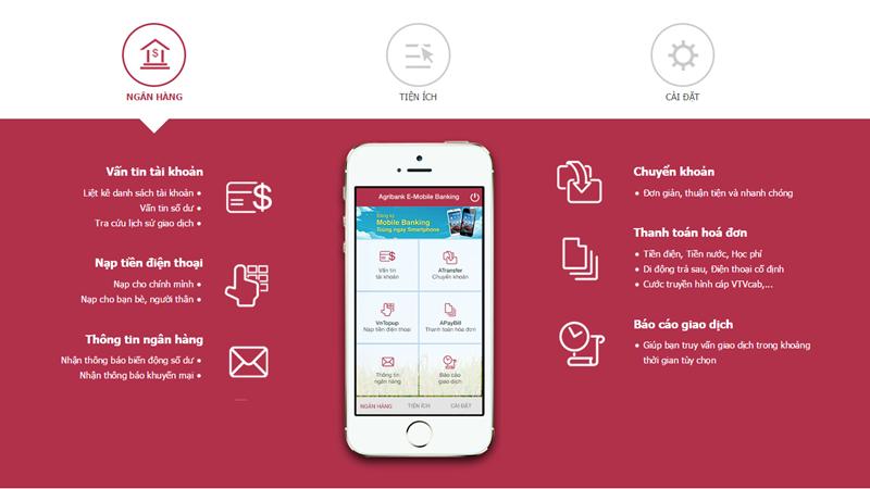 Kết nối mọi nơi cùng Agribank E-Mobile Banking