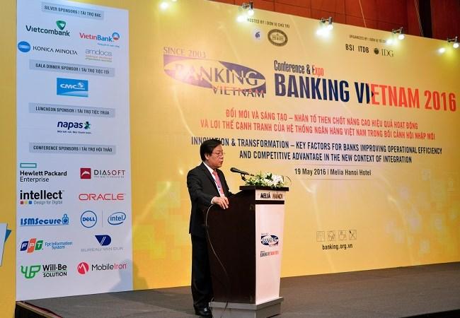 Khai mạc Banking Vietnam 2016