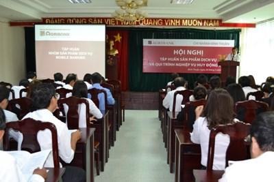 Agribank Bình Thuận tập huấn về sản phẩm dịch vụ 2016