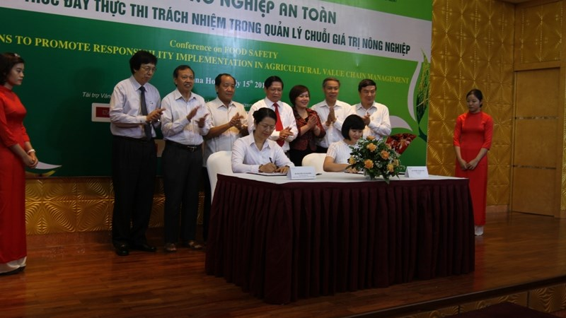 """Agribank và Vingroup ký kết thỏa thuận hợp tác """"Về đầu tư phát triển nông nghiệp an toàn, bền vững"""""""