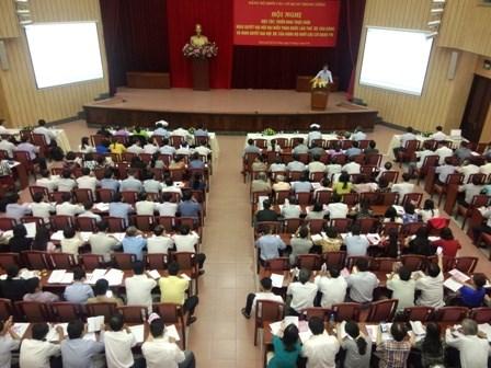 Các đơn vị khu vực phía Nam học tập, quán triệt và triển khai Nghị quyết Đại hội XII của Đảng