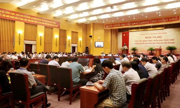 Quán triệt Nghị quyết Đại hội lần thứ XII của Đảng