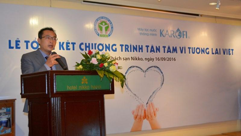 Hơn 300 máy lọc nước Karofi đã được gửi tới các làng ung thư