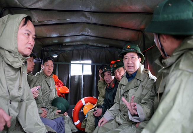 Xuất cấp kịp thời hàng dự trữ quốc gia hỗ trợ nhân dân Bình Định