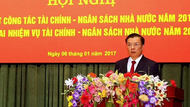 Ngành Tài chính quyết tâm hoàn thành nhiệm vụ năm 2017