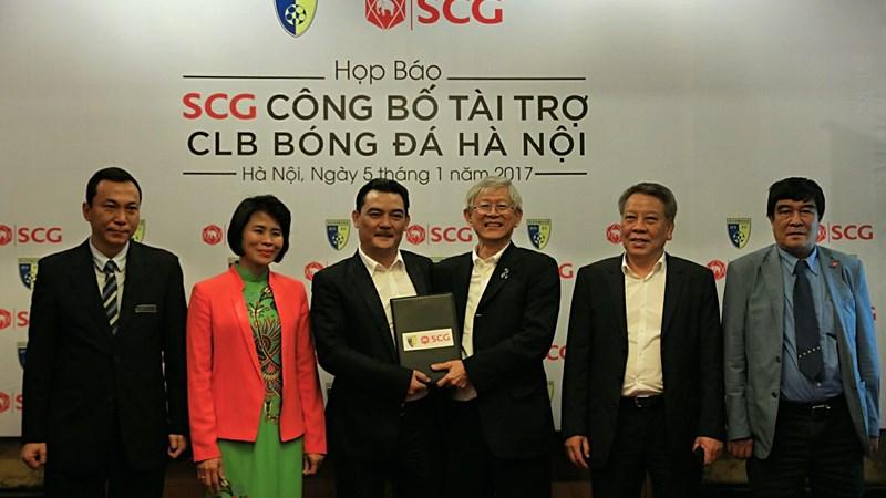 SCG sẽ là nhà tài trợ chính cho Hanoi FC trong 2 năm