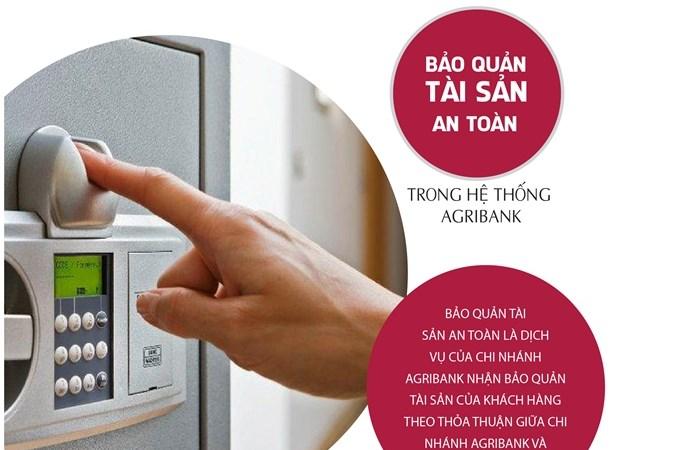Gửi trọn niềm tin qua dịch vụ bảo quản tài sản an toàn  trong hệ thống Agribank