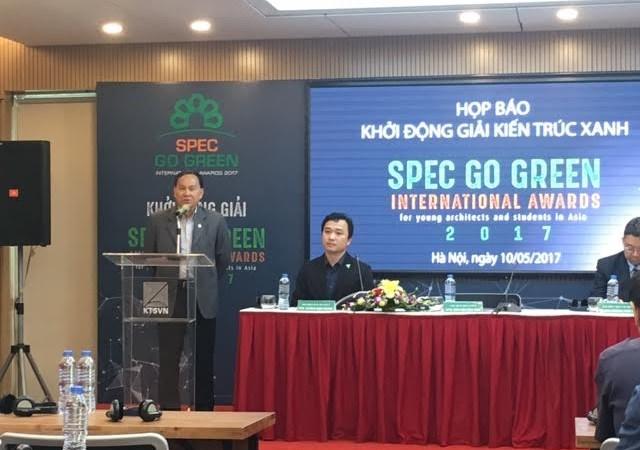 Phát động giải thưởng Spec Go Green Awards 2017