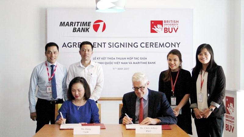 Maritime Bank hợp tác với BUV triển khai chương trình cho vay học phí không lãi suất cho sinh viên