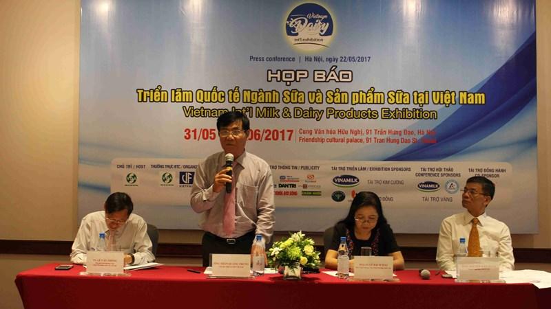 Triển lãm quốc tế ngành Sữa lần đầu tiên được tổ chức tại Việt Nam