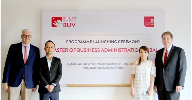 BUV khởi động chương trình Thạc sĩ quản trị kinh doanh