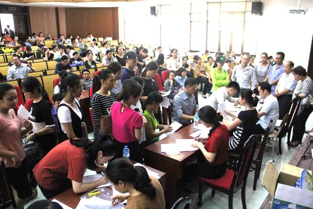 Xét tuyển thẳng và xác nhận nhập học hệ đại học chính quy gần 1.600 thí sinh