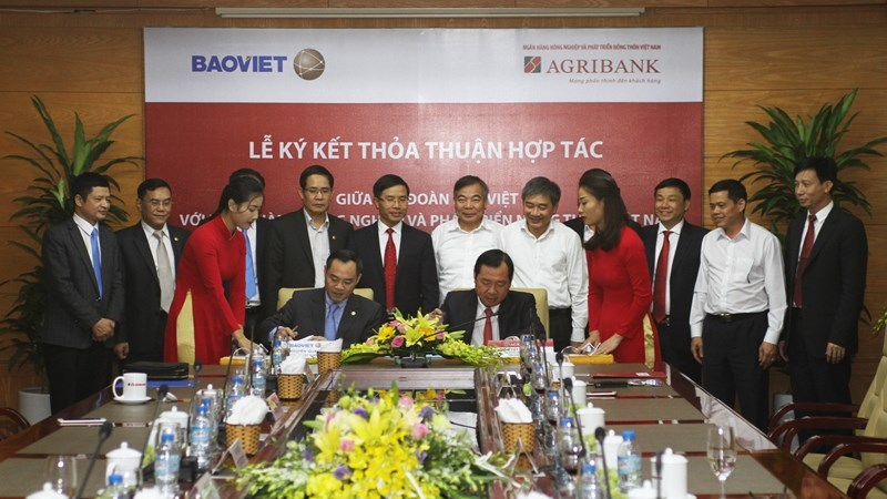 Agribank và Tập đoàn Bảo Việt ký kết thỏa thuận hợp tác