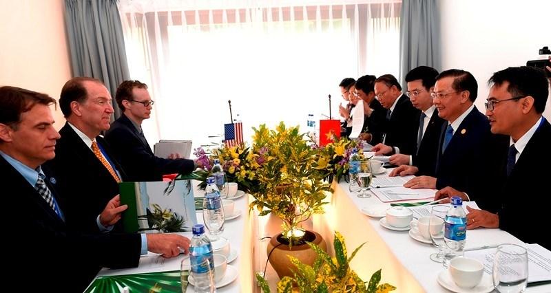 Việt Nam và Hoa Kỳ tăng cường hợp tác trong lĩnh vực tài chính