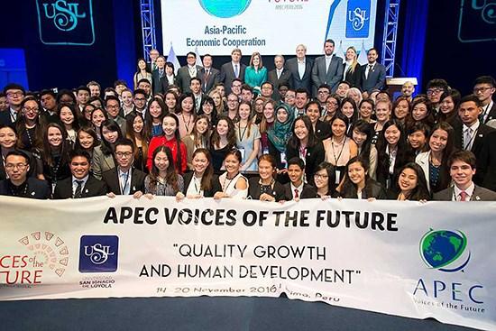 Nơi gặp gỡ của thanh niên các nền kinh tế APEC