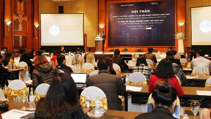 50 thương hiệu hàng đầu Việt Nam có trị giá hơn 11 tỷ USD