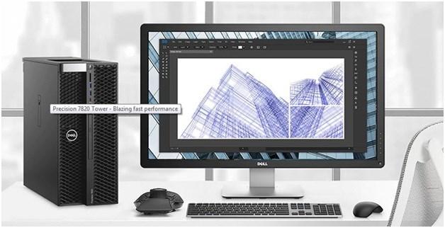 Tối đa hiệu suất xử lý công việc với Dell Precision 7820