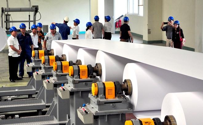 70% sản lượng giấy của Việt Nam sản xuất từ giấy phế liệu