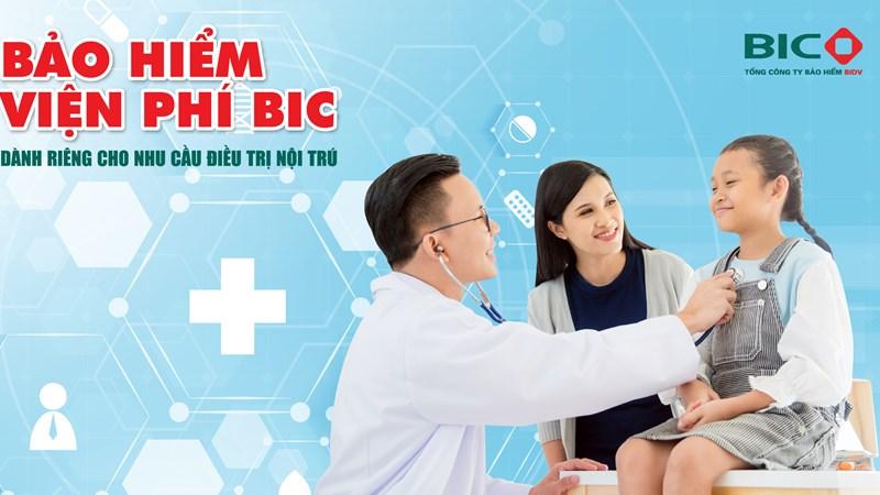 BIC ra mắt sản phẩm bảo hiểm viện phí