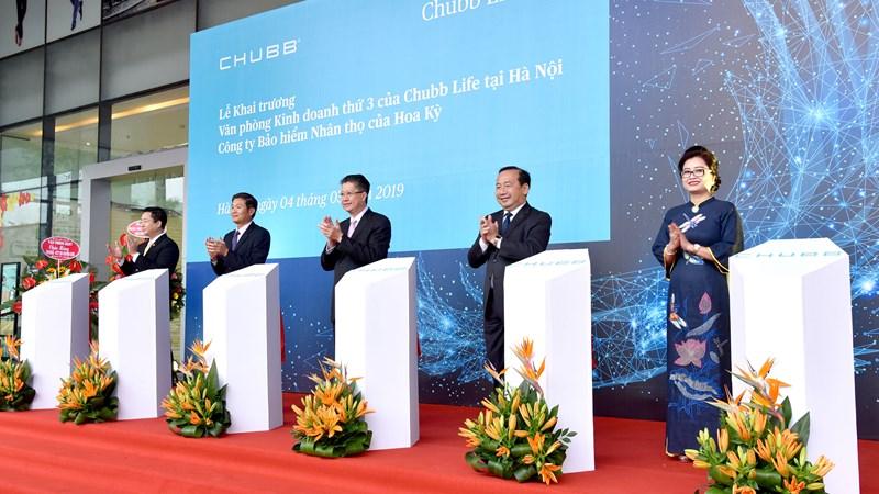 Chubb Life Việt Nam khai trương văn phòng kinh doanh thứ 3 tại Hà Nội.