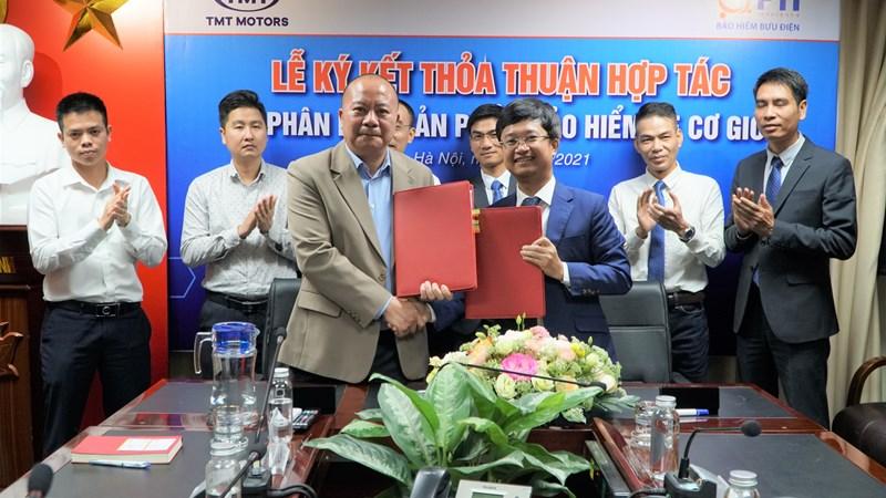 PTI ký kết thỏa thuận hợp tác với TMT Motors
