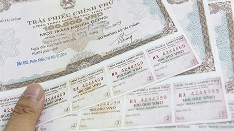 Kho bạc Nhà nước huy động thành công 7.450 tỷ đồng trái phiếu chính phủ