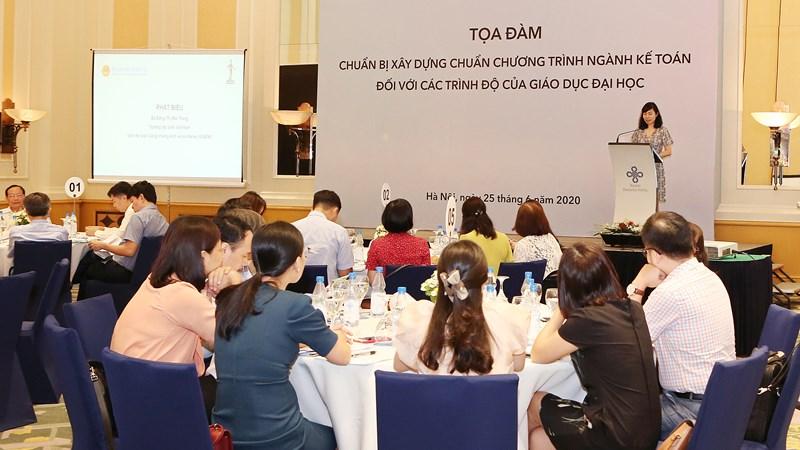 Hướng tới xây dựng chuẩn chương trình đào tạo cho ngành Kế toán ở Việt Nam