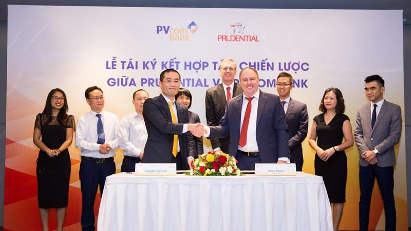 Prudential và PVcomBank ký kết hợp tác chiến lược dài hạn