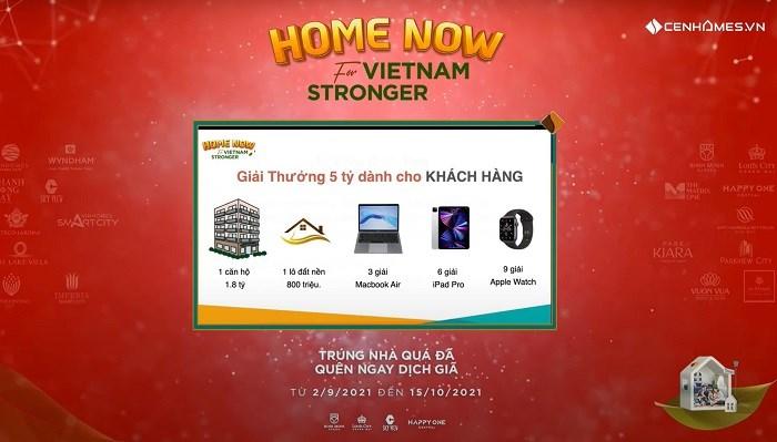 """Tập đoàn Cen Group kích hoạt chiến dịch """"Home now for Vietnam stronger"""""""