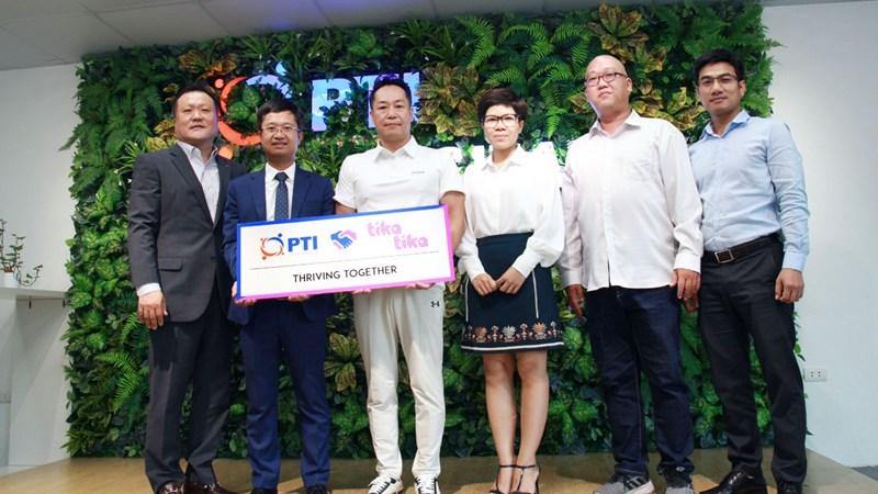 PTI Digital ký kết hợp tác với dịch vụ lái xe hộ TIKA TIKA