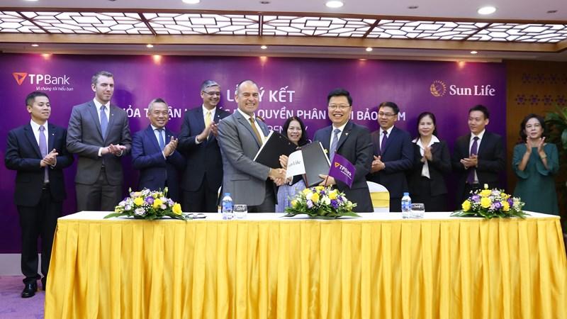 TPBank và Sun Life Việt Nam hợp tác phân phối bảo hiểm nhân thọ tại Việt Nam
