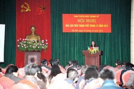 Cục Thuế Hà Nội: Phổ biến chính sách thuế mới cho gần 200 báo cáo viên