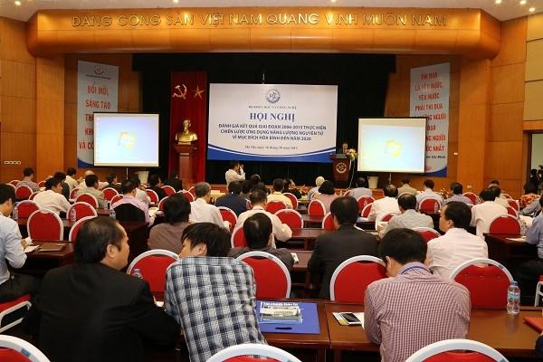 Hội nghị đánh giá kết quả 10 năm thực hiện Chiến lược ứng dụng năng lượng nguyên tử