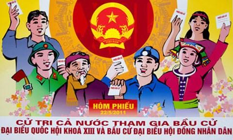 Đẩy mạnh tuyên truyền bầu cử đại biểu Quốc hội khóa XIV