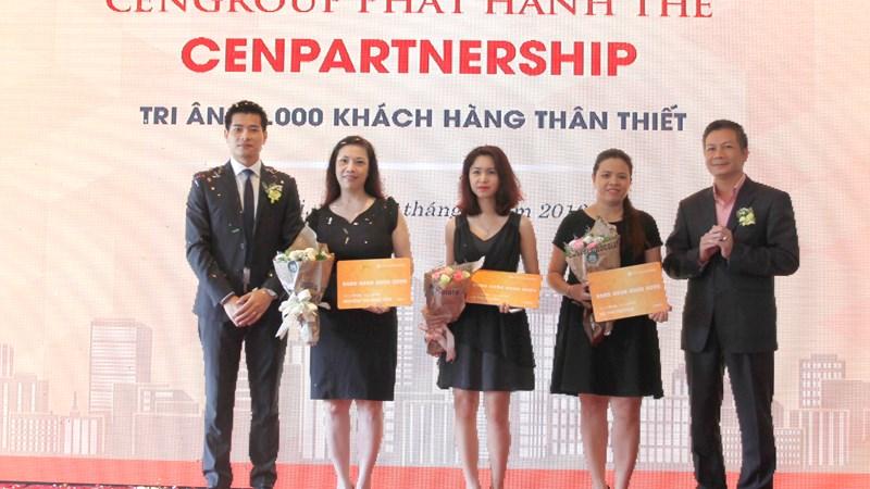 Cengroup phát hành thẻ Cen Partnership tri ân 56.000 khách hàng thân thiết