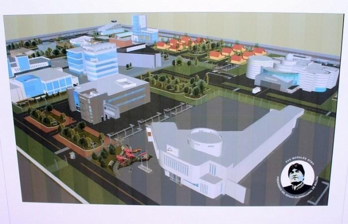 Xây dựng Trung tâm Khoa học và Công nghệ hạt nhân lớn nhất Mỹ Latinh