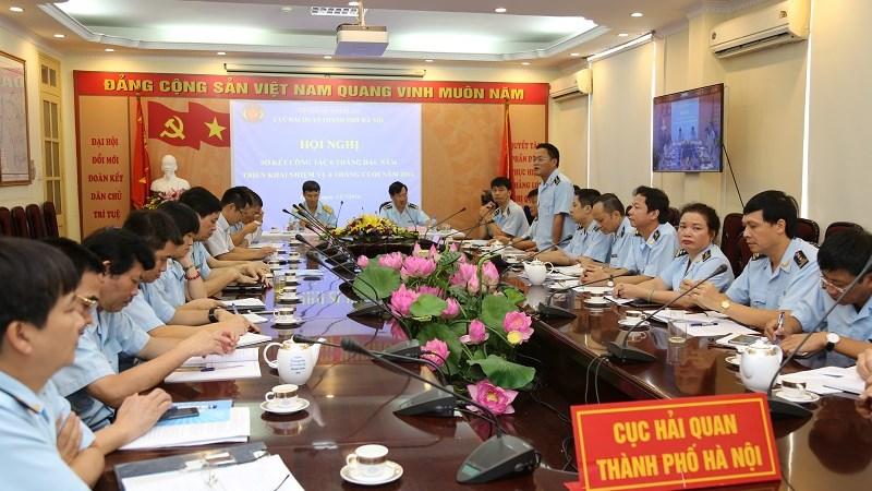 Hải quan Hà Nội sơ kết công tác 6 tháng đầu năm 2016