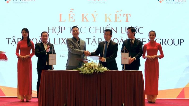 Lễ ký kết hợp tác chiến lược giữa CENGROUP và LIXIL