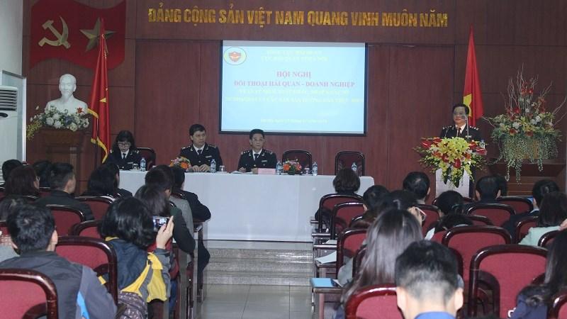 Cục Hải quan TP. Hà Nội: Đối thoại với 50 doanh nghiệp xuất nhập khẩu