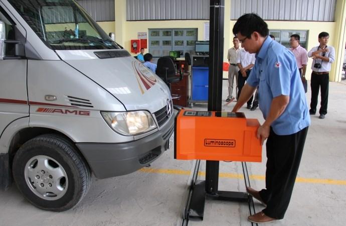 Quy định mới về giá dịch vụ kiểm tra chất lượng xe cơ giới