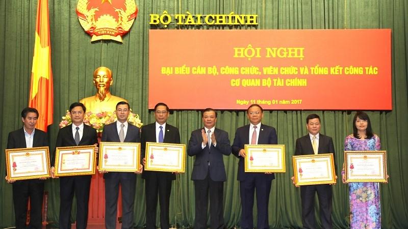 Hội nghị đại biểu cán bộ, công chức, viên chức và tổng kết công tác cơ quan Bộ Tài chính năm 2016