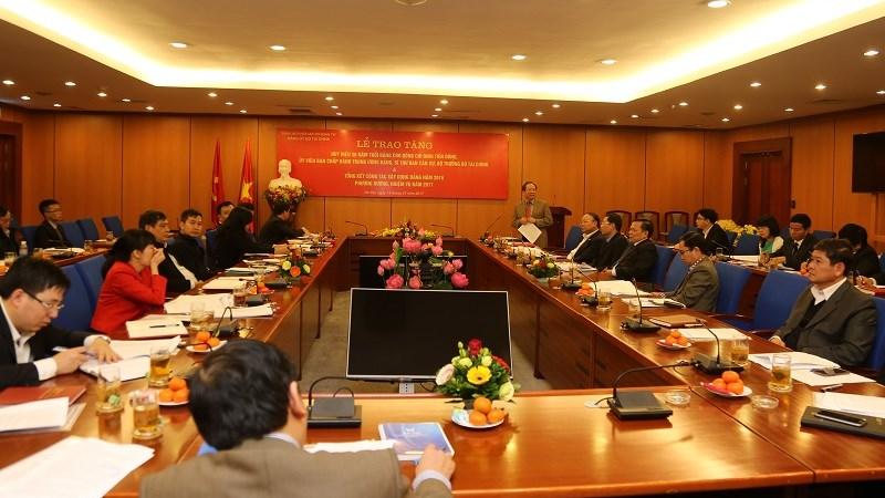 Đảng ủy Bộ Tài chính: Nhiều chuyển biến tích cực trong công tác xây dựng Đảng