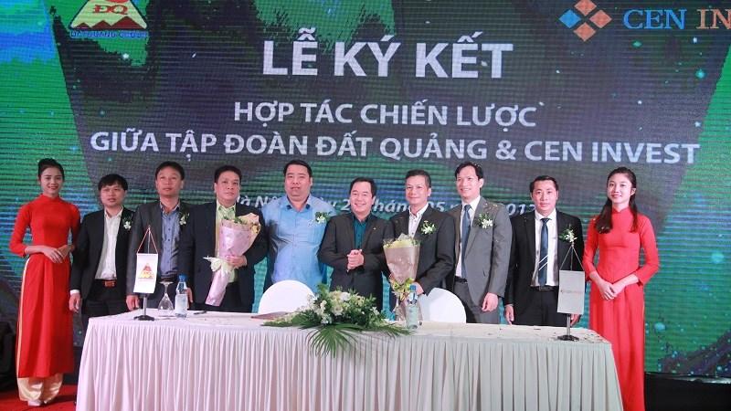 CenInvest và Tập đoàn Đất Quảng ký kết hợp tác chiến lược
