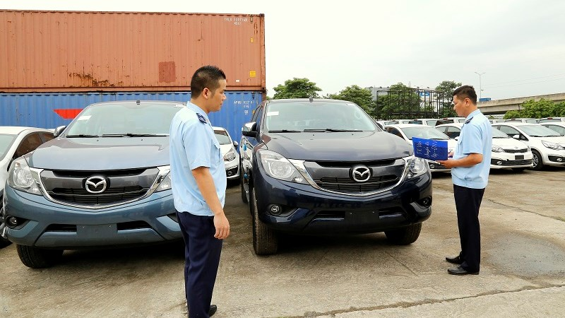 Hải quan TP. Hà Nội làm thủ tục cho hơn 510.000 tờ khai xuất, nhập khẩu