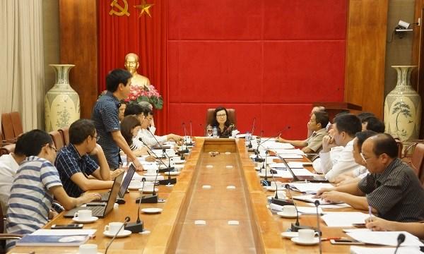 Ban Cán sự Đảng BHXH Việt Nam họp về triển khai Quyết định 595/QĐ-BHXH