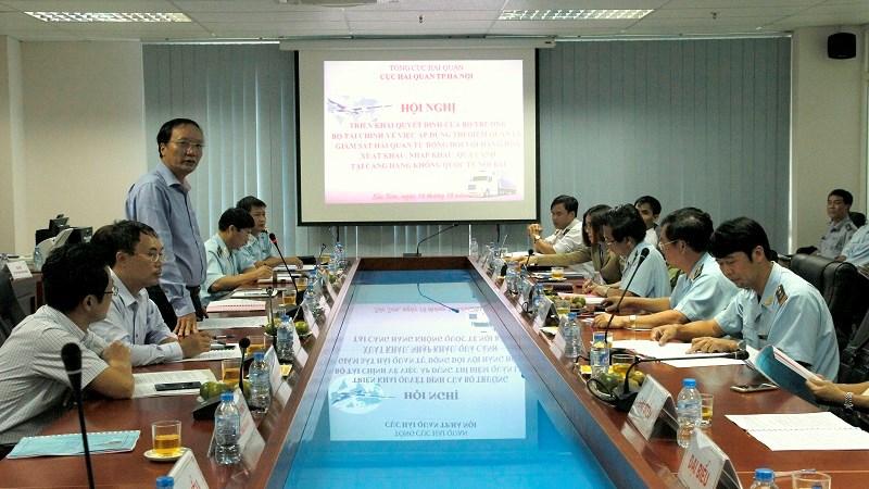 Triển khai thí điểm quản lý, giám sát tự động hàng hóa tại sân bay Nội Bài
