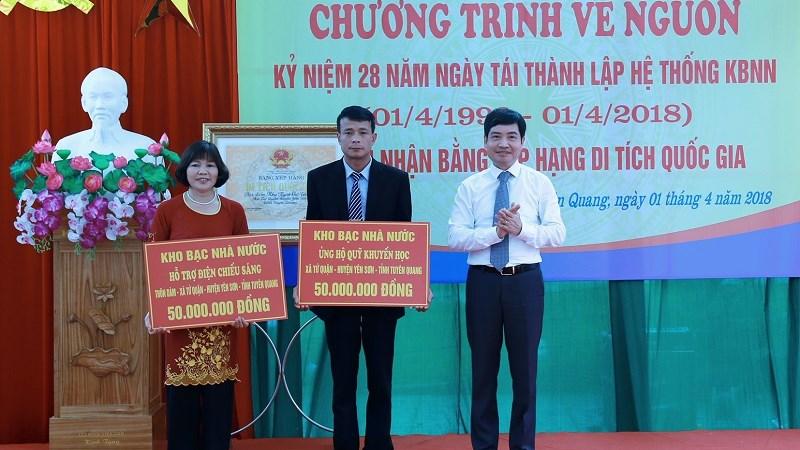 Kho bạc Nhà nước Trung ương tổ chức về nguồn tại Tuyên Quang