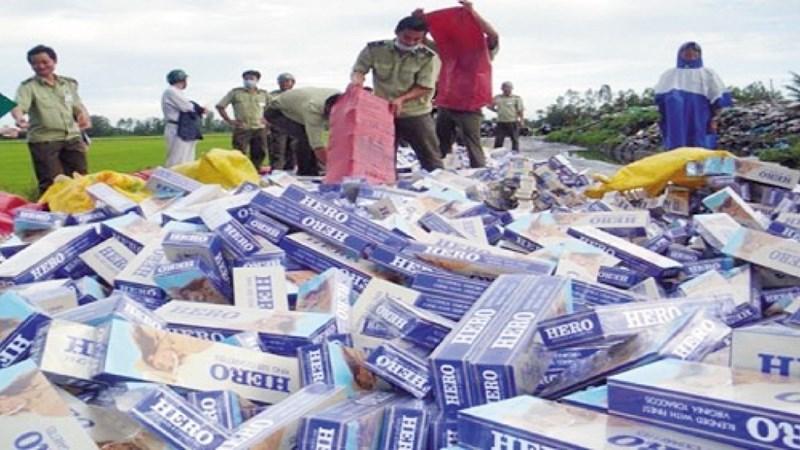 Quy định mới về thí điểm bán đấu giá thuốc lá ngoại nhập lậu bị tịch thu